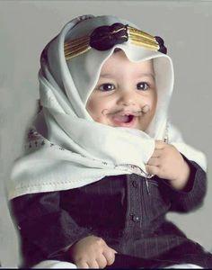 cute muslim baby